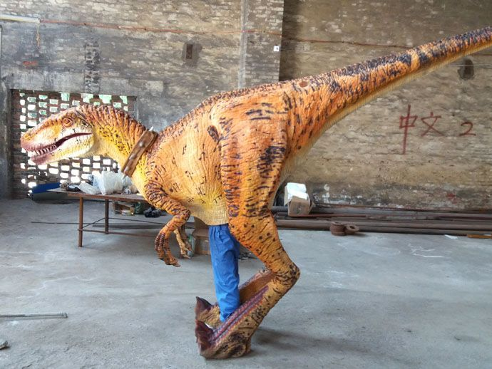 t-rex costume adult video from UK & Dinosaur Costumeu2014Animatronic dinosaur factory from China