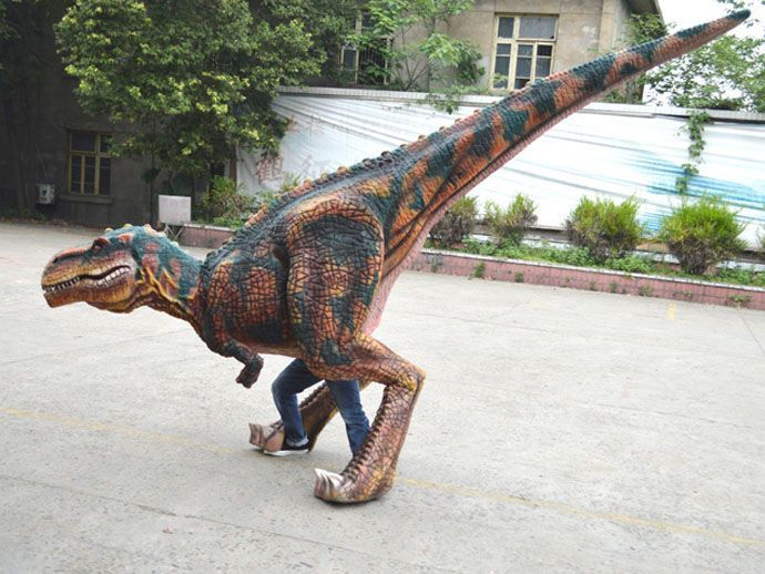 silicon rubber dinosaur costume video & Dinosaur Costumeu2014Animatronic dinosaur factory from China