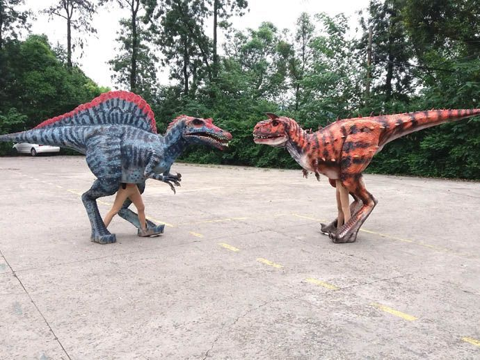 Life size dinosaur costume from China