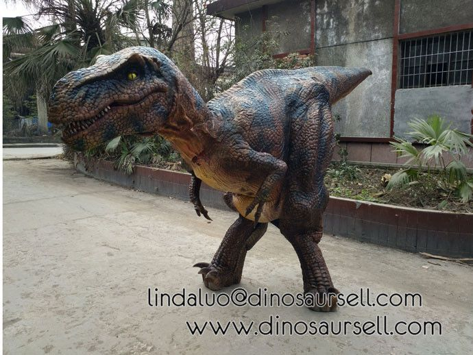lifelike adult hidden legs dinosaur costume