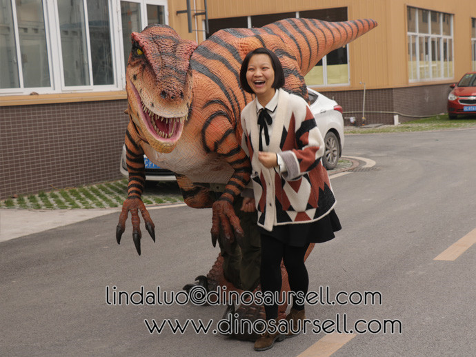 Customized new Velociraptor costume