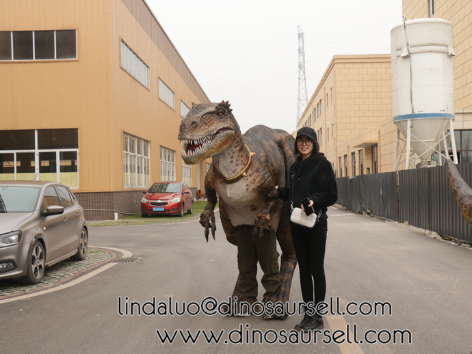 Robotic T-Rex was tested in our factory