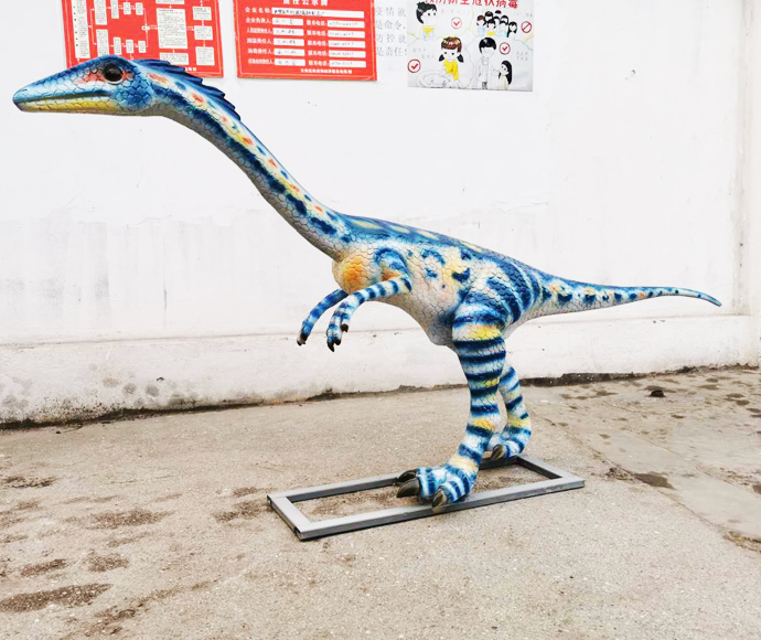 2020 new Fiberglass dinosaurs statues for hot sale